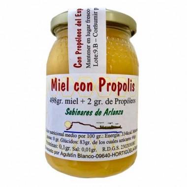 """MIEL CON PROPOLIS """"SABINARES DEL ARLANZA"""" - ESPAÑA"""