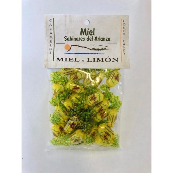 Caramelo Miel y Limón  100 gr. Sabinares del Arlanza