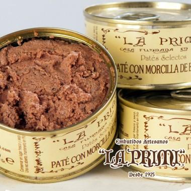 "Paté de Morcilla de Burgos 110 gr ""La Primi"" en lata"