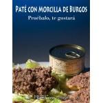 """Paté de Morcilla de Burgos 110 gr """"La Primi"""" sugerencia de presentación"""