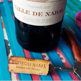 """Vino Tinto """"Valle de Nabal"""" D.O. Ribera del Duero"""