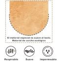 Características del corcho, suave, impermeable
