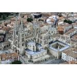 Catedral de Burgos VIII Centenario foto aérea