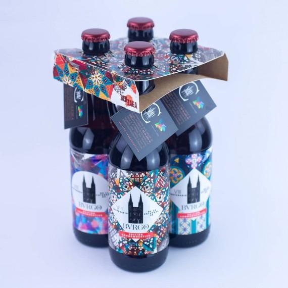 Pack 4 Cerveza Artesana de Burgos Edición Especial VIII Centenario Catedral de Burgos
